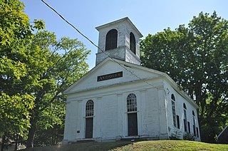 Pittston Congregational Church United States historic place