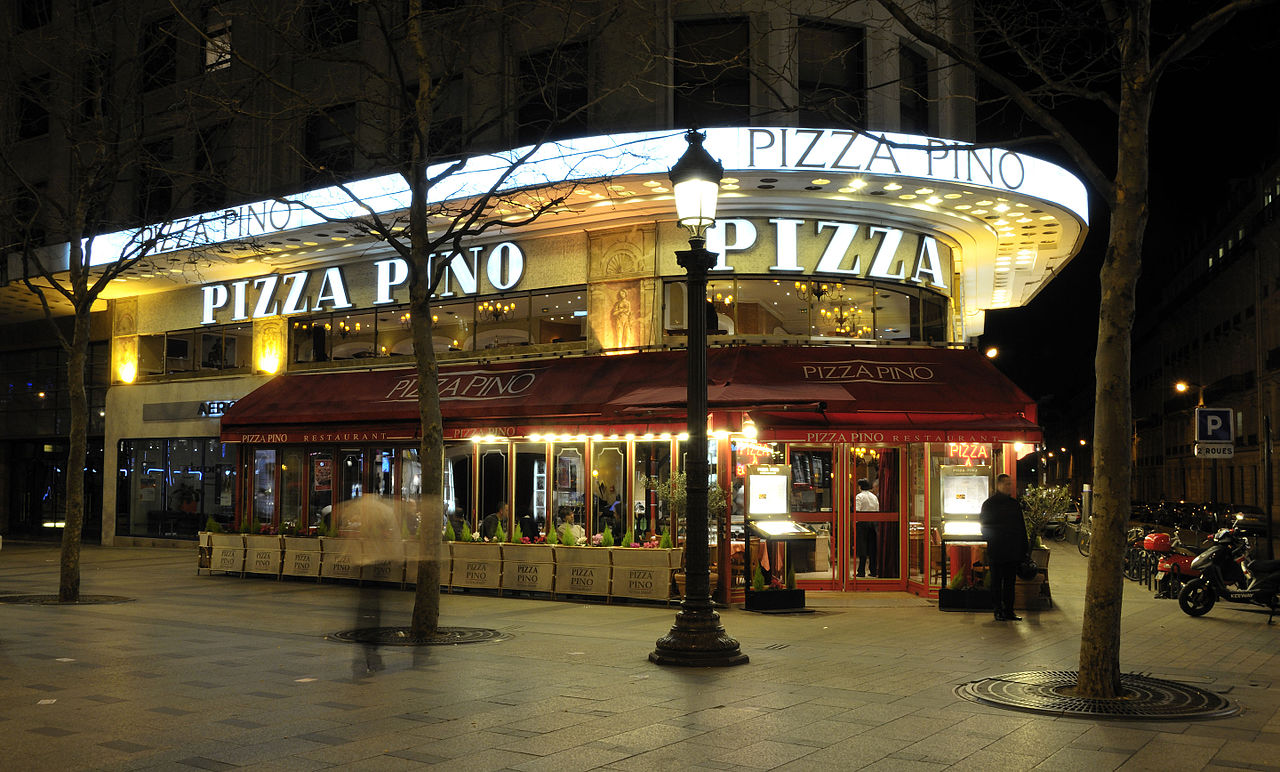 file pizza pino 31 33 av des champs lys es 75008 paris. Black Bedroom Furniture Sets. Home Design Ideas