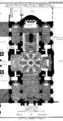 plan de base de la chapelle chapelle de la sorbonne chappelle de la