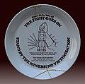 Plate, UK miners' strike (1984–85) J1.jpg