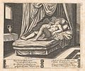 Plate 32- Cupid and Psyche in the nuptial bed, from the Story of Cupid and Psyche as told by Apuleius MET DP862838.jpg