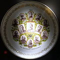 Plate with portraits of Wilhelm II, Prinz Heinrich, and army generals, Germany, 1914 AD - Braunschweigisches Landesmuseum - DSC04657.JPG