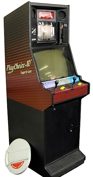 PlayChoice-10 - Image: Play Choice 10 Superdeluxe arcade cabinet