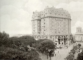 Plaza Hotel Buenos Aires - Image: Plaza Hotel (1910)