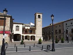 Plaza Mayor Mota del Cuervo..JPG