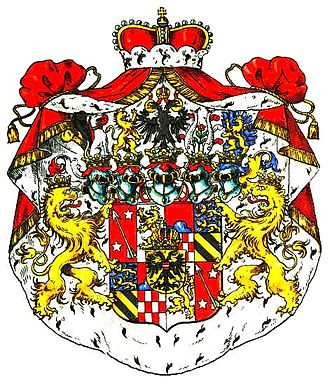 Duchy of Pless - Coat of arms of the Prince of Pless, Count of Hochberg, Baron of Fürstenstein