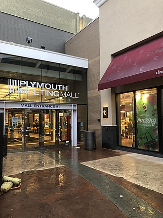 Plymouth Meeting Mall - Mall entrance 2018