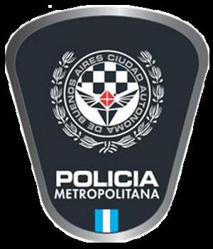 Buenos Aires Metropolitan Police - Image: Policia metrop ba logo