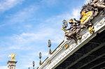 Pont Alexandre III from a ferry, Paris April 2013.jpg