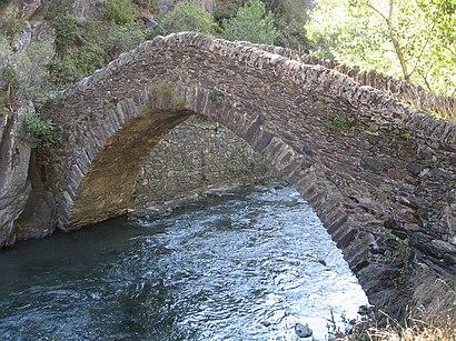 How to get to Pont De Sant Antoni De La Grella with public transit - About the place