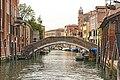 Ponte de la Scoazera sul rio degli Ognissanti (Venice).jpg