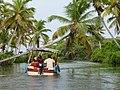 Poovar backwaters boat ride, Kerala, India.jpg