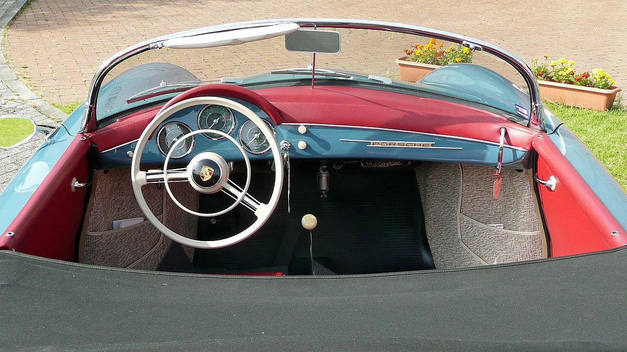 File Porsche 356 A Speedster Cockpit 1958 Hch Jpg Wikimedia Commons