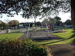 Easton Gardens - Easton Gardens' play area.