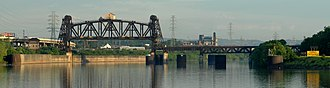 Louisville and Indiana Railroad - Image: Portland Canal Entrance