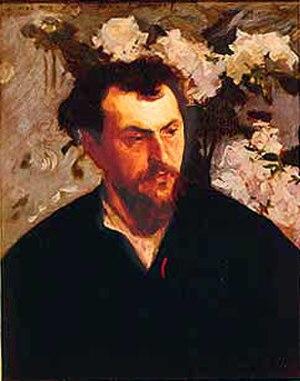 Ernest Ange Duez - Portrait of Ernest-Ange Duez, John Singer Sargent, c. 1884