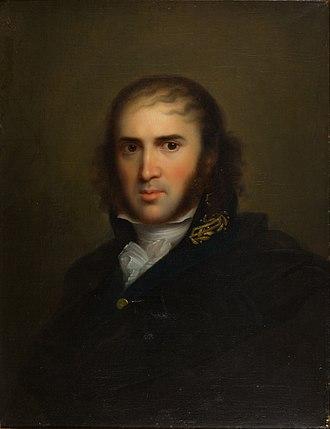 Johann Karl Simon Morgenstern - Portrait by Gerhard von Kügelgen, 1808