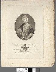 right honble. Selina Countefs Dowager of Huntingdon