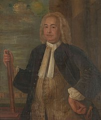Portrait of Johannes Thedens, Governor-General of the Dutch East India Company