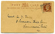 220px-Postal_card_UK_1890.jpg