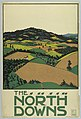 Poster, The North Downs, London Underground, 1915 (CH 18447297-2).jpg
