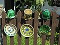Pottery house complex. Wooden fence. Mugs. - 28-30 Batthyány Street, Tihany.JPG