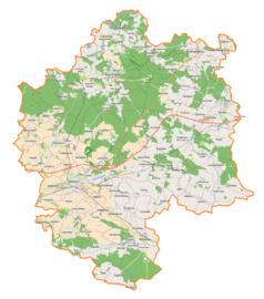 Mapa lokalizacyjna powiatu oleśnickiego