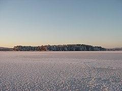 Prästön, Insjön, 2007-12-23.jpg