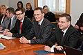 Premjers V.Dombrovskis tikās ar SVF un EK pārskata misijas pārstāvjiem (6308683170).jpg