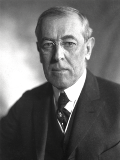 Woodrow Wilson 28th president of the United States
