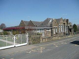 Birdsedge Village in West Yorkshire, England