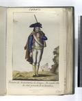 Primero de Voluntarios de Aragon, fue creado Año de 1762, y consta de vn Batallon. (1797) (NYPL b14896507-87713).tiff