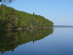 Lake Waskesiu im Prinz-Albert-Nationalpark