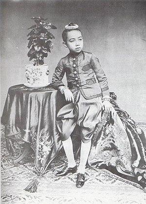 Vajiravudh - Young Prince Vajiravudh in 1925.