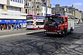 Princes Street, Edinburgh, fire engine and bus, March 2010.jpg