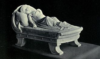 Princess Elizabeth of Clarence - Statue by W. Scoular, Windsor Castle
