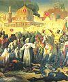 Prise de Jérusalem par les Croisés, le 15 juillet 1099 Emil Signol, Musée du Château Versailles.JPG