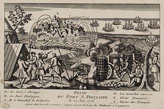 William Blakeney, 1st Baron Blakeney - The siege of Fort St. Philip in Menorca. April to June 1756.