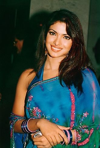 Priyanka Chopra - Chopra at a celebration party of Andaaz in 2003