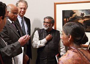 The Last Harvest: Paintings of Rabindranath Tagore - Art Historian R. Siva Kumar, the curator of the show explains Tagore's Painting