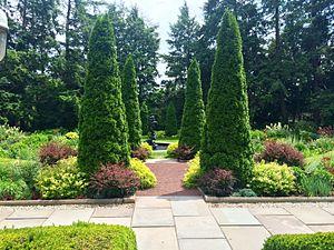 Prospect House (Princeton, New Jersey) - Image: Prospect House Garden (2)