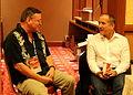 Prothero and Shermer TAM 2013.jpg