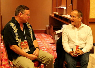 Donald Prothero - Prothero and Michael Shermer at TAM 2013