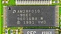 Psion Dacom Gold Card V32bis + Fax - controller - AMD AM28F010-90EC-4541.jpg
