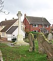 Pulham St Mary War Memorial - geograph.org.uk - 1593709.jpg