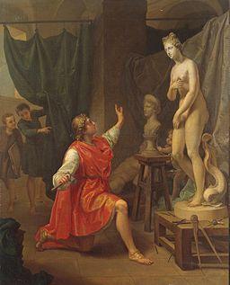 Pygmalion and Galatea (Pecheux)