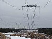 735 kV tower (Quebec)