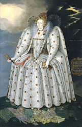 Marcus Gheeraerts the Younger: Queen Elizabeth I ('The Ditchley portrait')