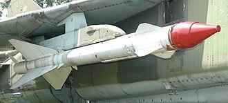 R-23 (missile) - R-23T on Polish MiG-23