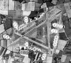 RAF Fersfield - Image: RAF Fersfield 29 Aug 1946 Airfield